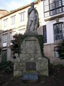 Estatua de Santiago de Alfonso II el Casto